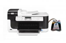 МФУ HP OfficeJet 6500A с СНПЧ