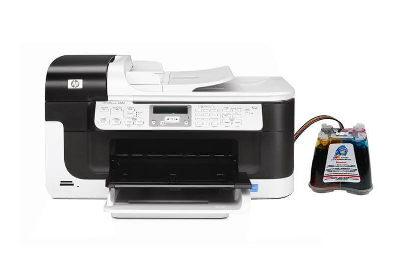 МФУ HP OfficeJet 6500A с системой НПЧ