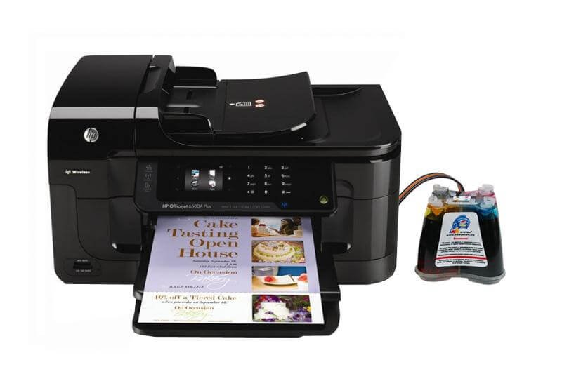 МФУ HP OfficeJet 6500A Plus с СНПЧ