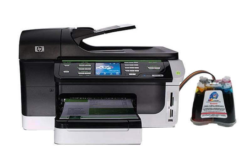 МФУ HP OfficeJet 8500A с системой НПЧ