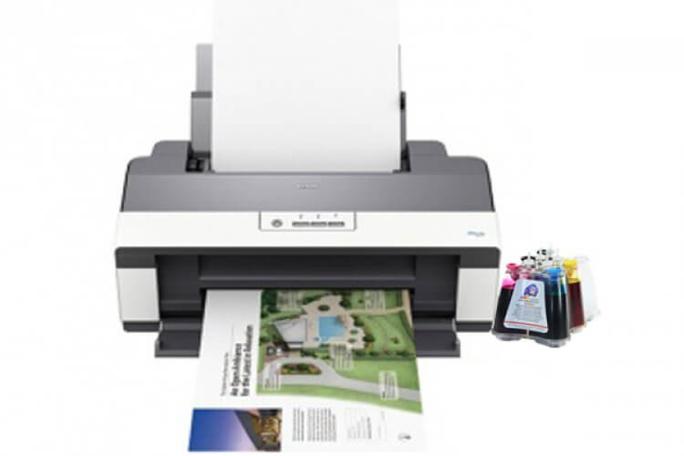 Принтер Epson WorkForce 1100 refurbished с СНПЧ