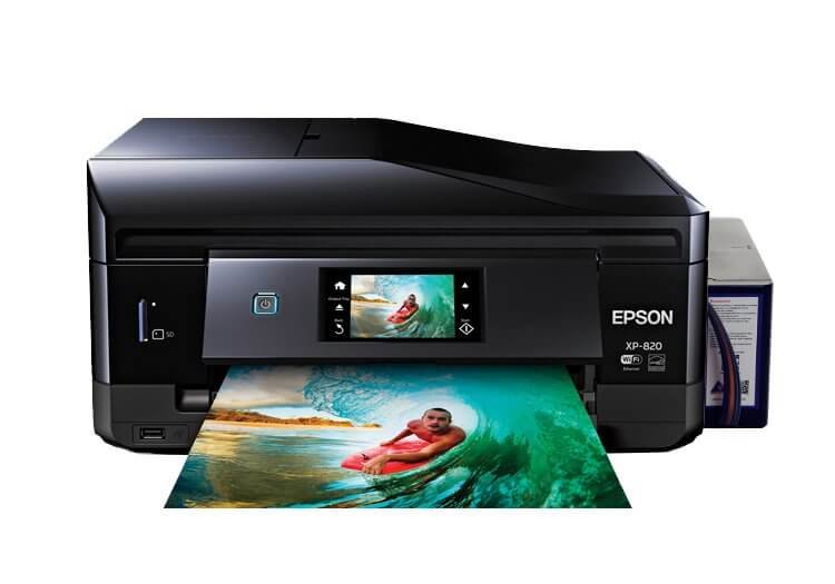 МФУ Epson Expression Premium XP-820 Refurbished by Epson с СНПЧ