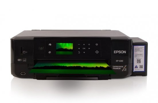 МФУ Epson Expression Premium XP-630 Refurbished с СНПЧ и светостойкими чернилами INKSYSTEM