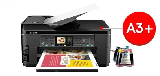 МФУ Epson WorkForce WF-7510 фото