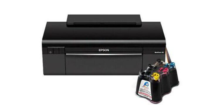 Принтер Epson Stylus Office T30 с СНПЧ