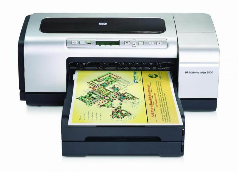 Принтер HP Business InkJet 2800 с системой НПЧ