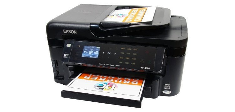 Epson WF-3520DWF Refurbished с СНПЧ 2