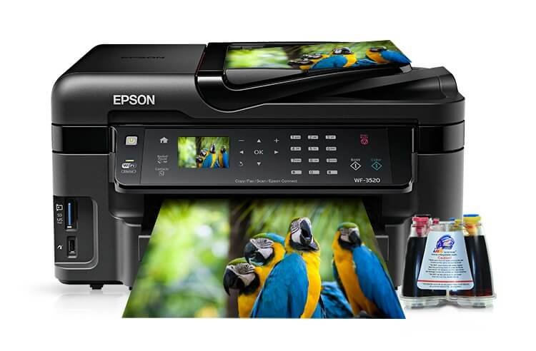 Epson WF-3520DWF Refurbished с СНПЧ 1